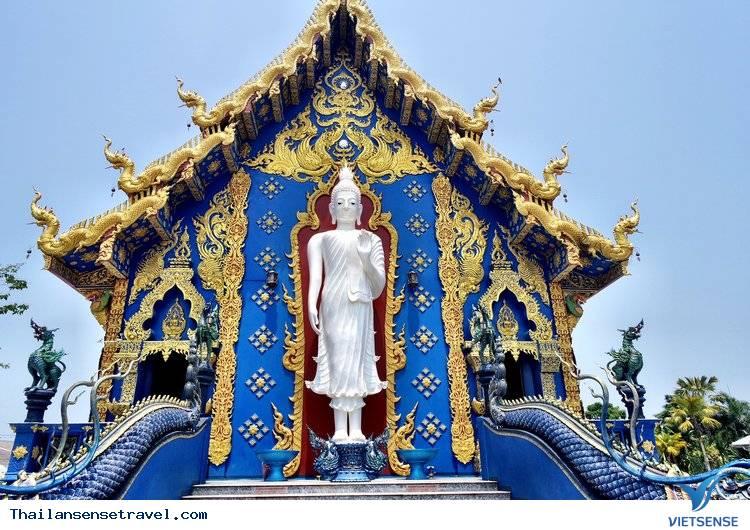 Ngất Ngây Trước Vẻ Đẹp Lạ Của Ngôi Đền Xanh Ở Thái Lan - Ảnh 1