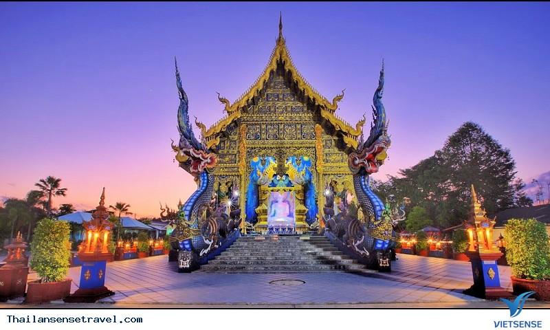 Ngất Ngây Trước Vẻ Đẹp Lạ Của Ngôi Đền Xanh Ở Thái Lan - Ảnh 5