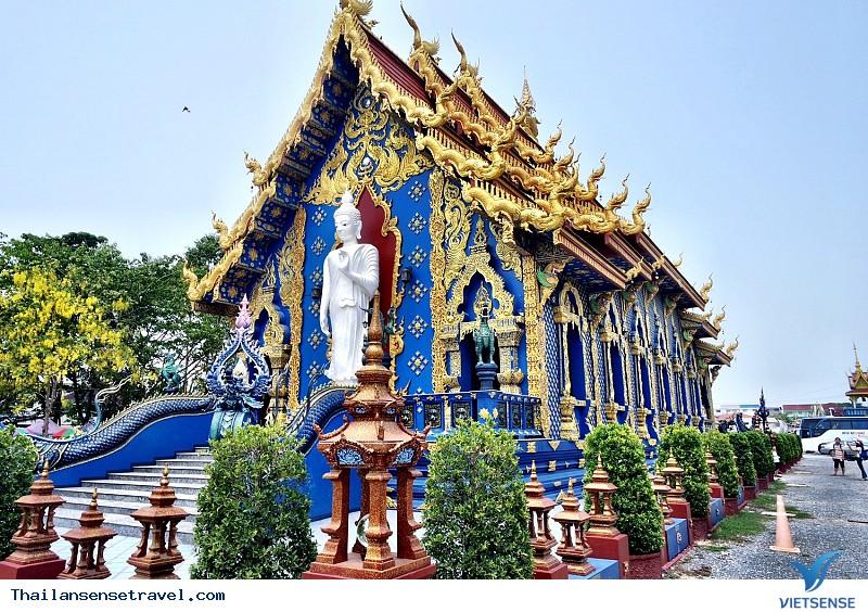 Ngất Ngây Trước Vẻ Đẹp Lạ Của Ngôi Đền Xanh Ở Thái Lan - Ảnh 6