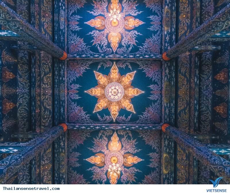 Ngất Ngây Trước Vẻ Đẹp Lạ Của Ngôi Đền Xanh Ở Thái Lan - Ảnh 3