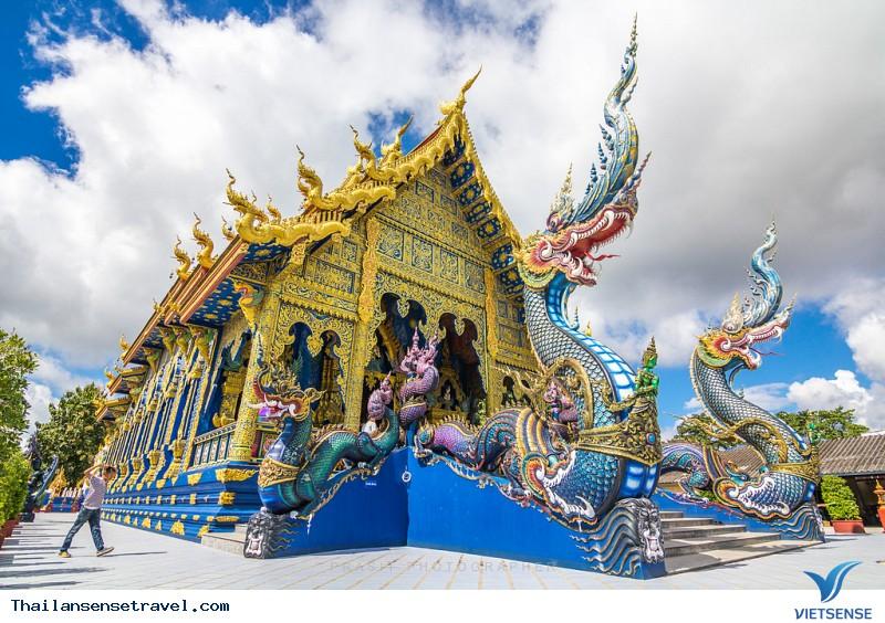 Ngất Ngây Trước Vẻ Đẹp Lạ Của Ngôi Đền Xanh Ở Thái Lan - Ảnh 2