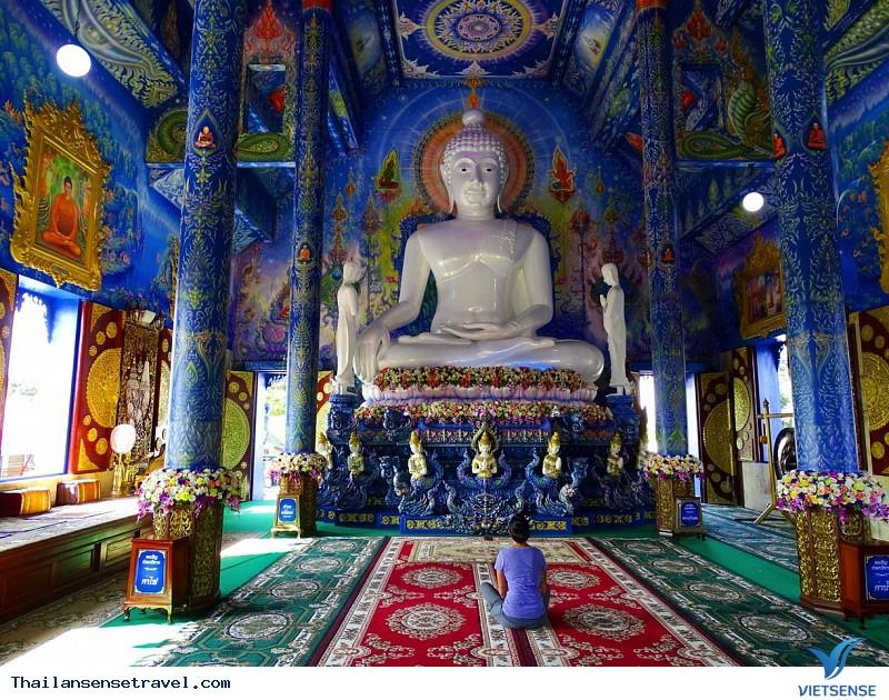 Ngất Ngây Trước Vẻ Đẹp Lạ Của Ngôi Đền Xanh Ở Thái Lan - Ảnh 4