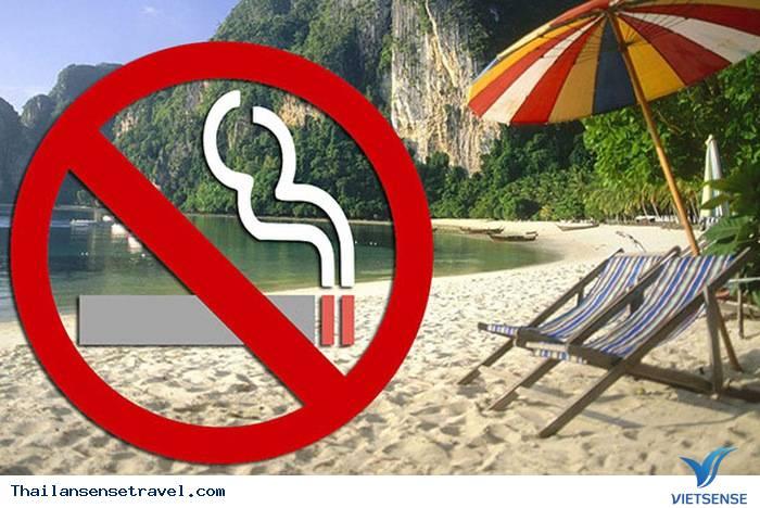 Thái Lan Ban Hành Luật Cấm Thuốc Lá Trên Các Bãi Biển - Ảnh 1