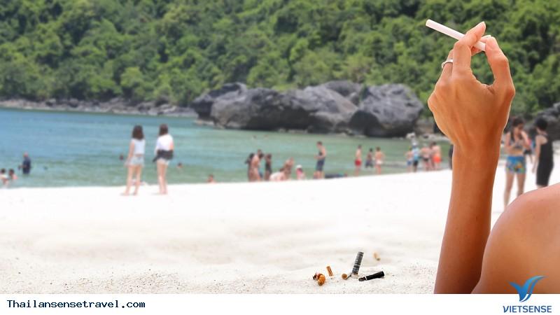Thái Lan Ban Hành Luật Cấm Thuốc Lá Trên Các Bãi Biển - Ảnh 3