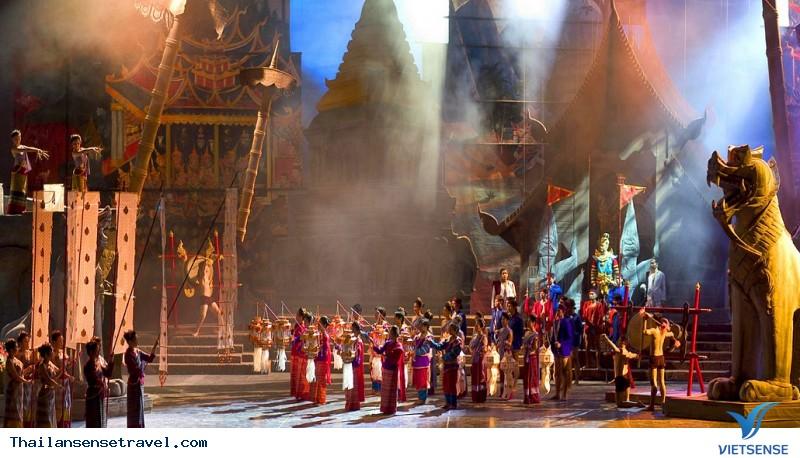 Tìm hiểu trọn gói về nền văn hóa Thái Lan qua rạp hát Siam Niramit ở Bangkok, 2018 - Ảnh 1