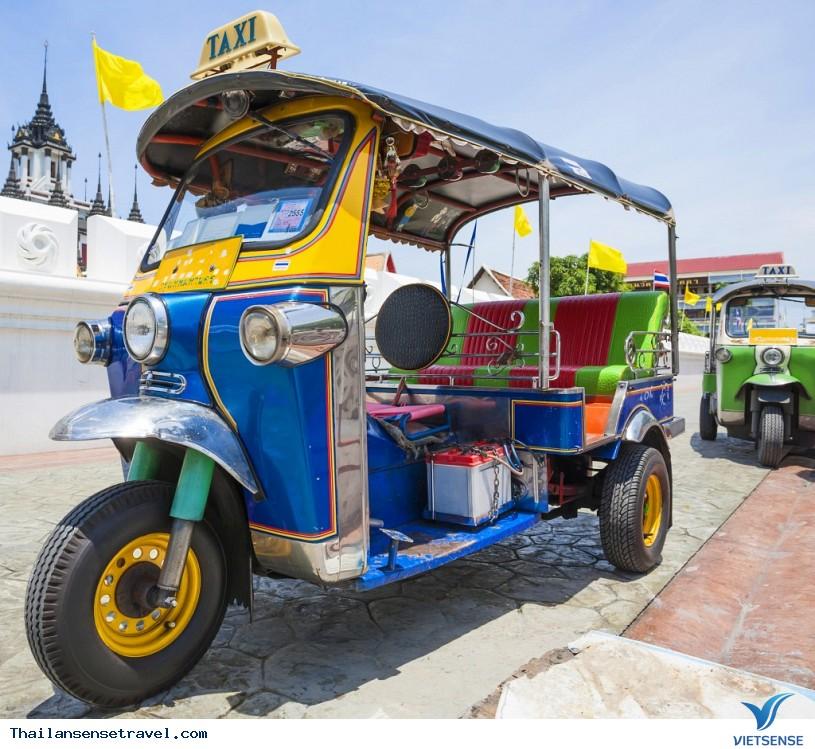 Kinh nghiệm đi xe tuk tuk ở Thái Lan. - Ảnh 3