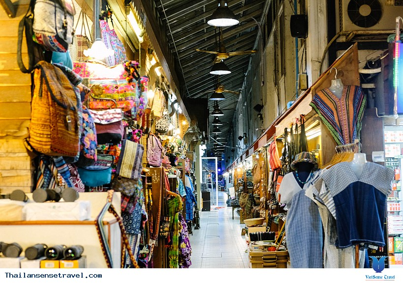 Khu Chợ Đêm Night Bazaar Chiang Mai - Ảnh 4