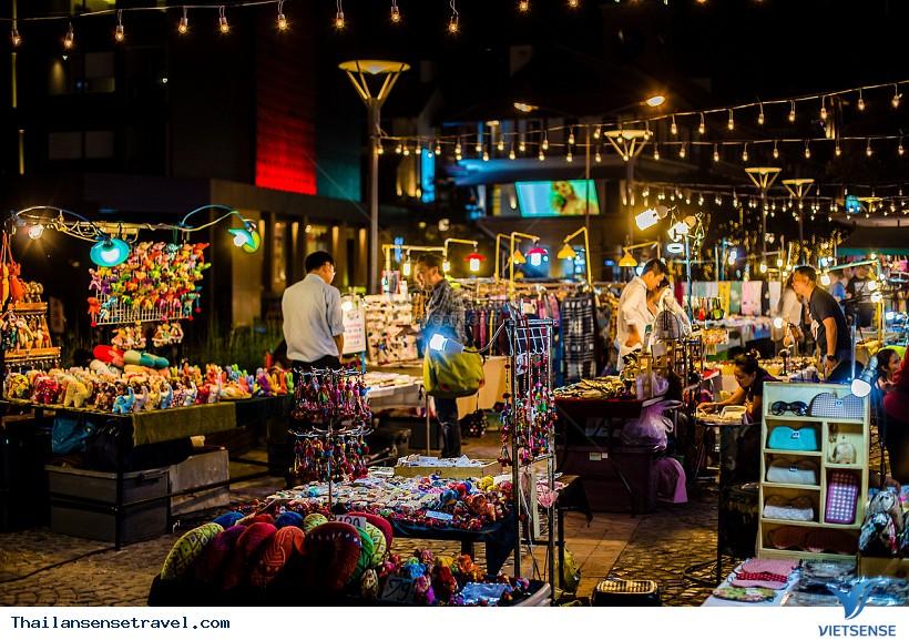 Khu Chợ Đêm Night Bazaar Chiang Mai - Ảnh 2