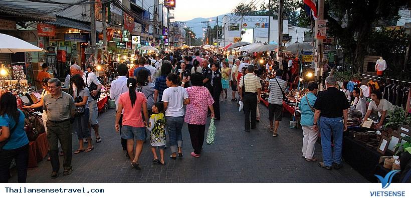 Khu Chợ Đêm Night Bazaar Chiang Mai - Ảnh 3