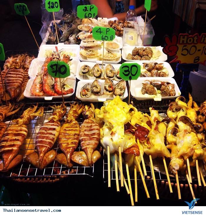 Các món ăn ở đường phố Bangkok - Ảnh 1