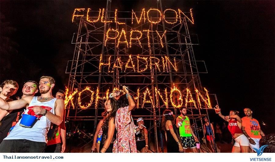 Tham dự tiệc Trăng tròn ở Koh Phangan