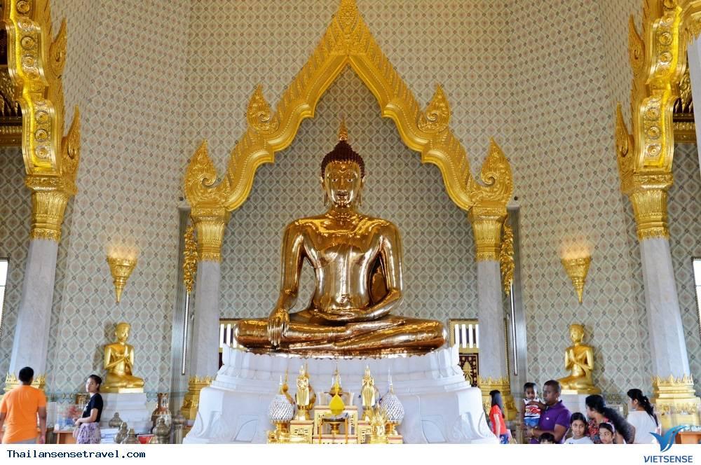 Chùa Phật Vàng Bangkok Thái Lan - Ảnh 2