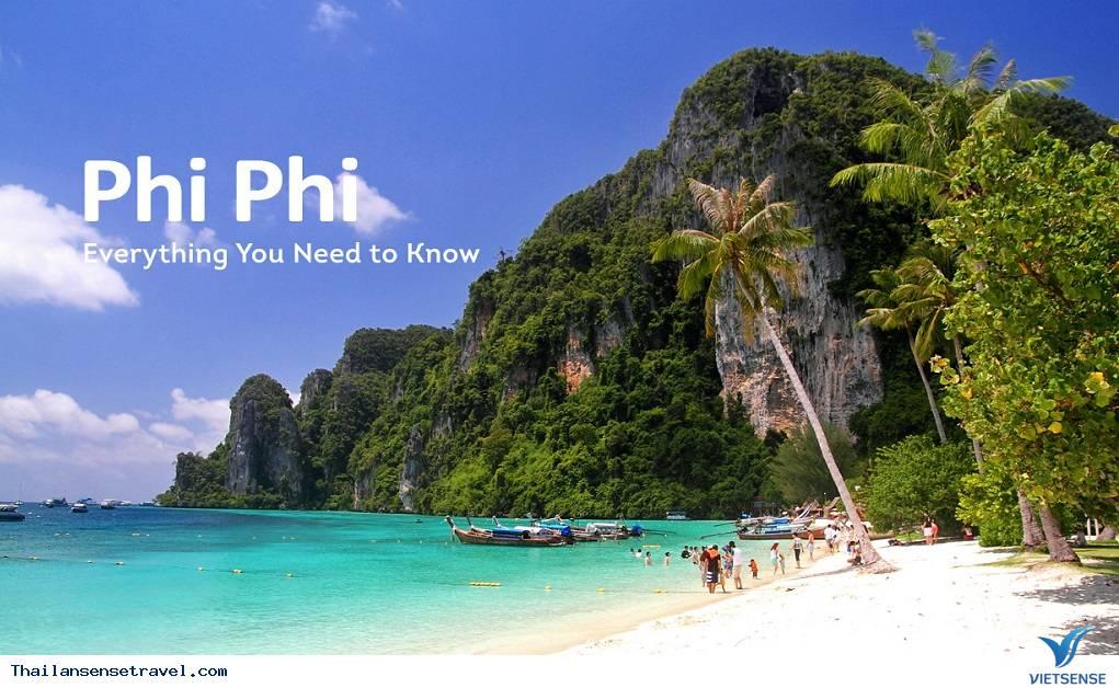 Ngày 2: Phi Phi, Thị trấn cổ Phuket Old Town, trung tâm mua sắm Premium Outlet Phuket