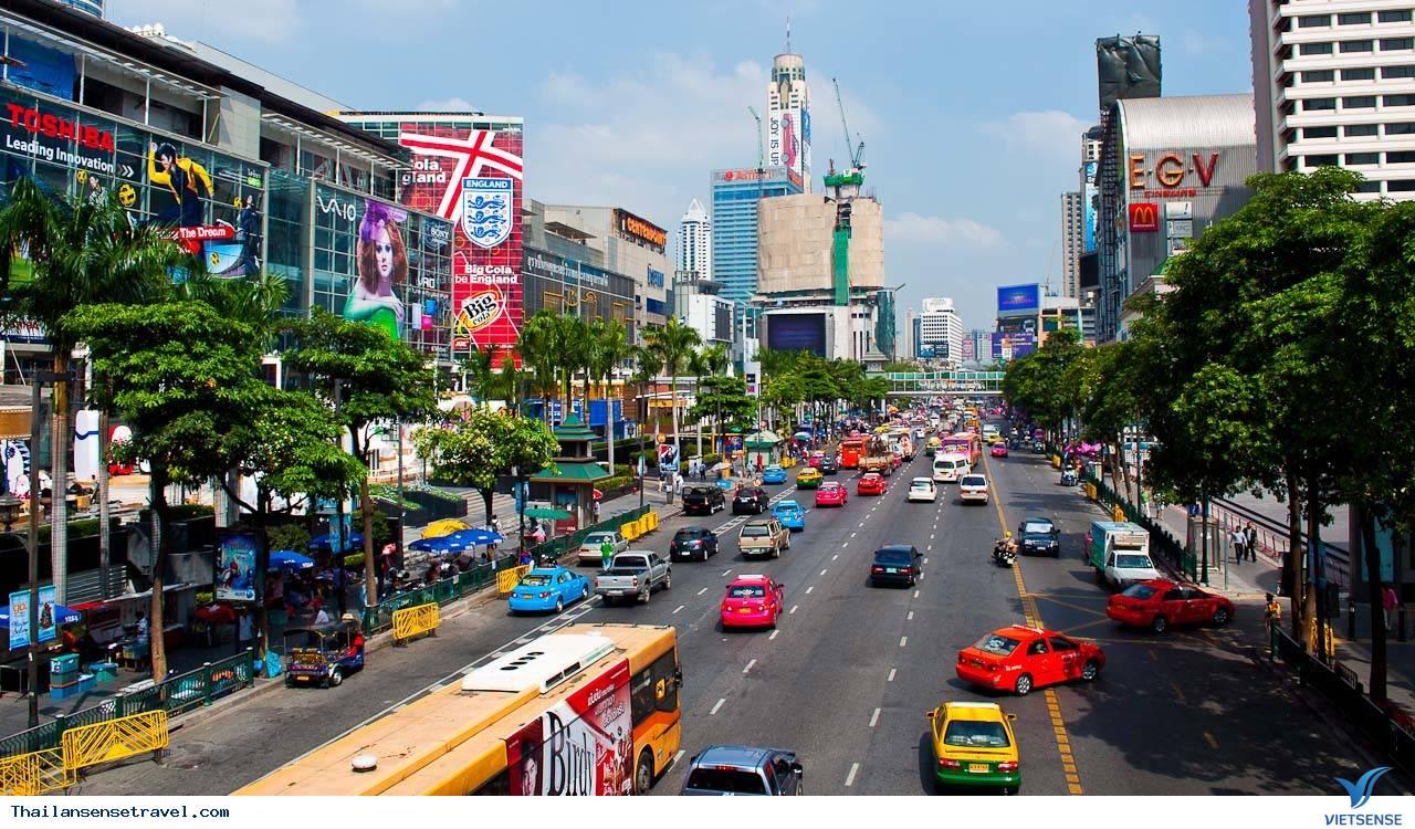 Thủ đô Bangkok - điểm thu hút du khách bậc nhất với lễ hội té nước - Ảnh 1