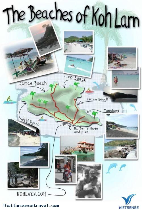 Du Lịch đảo Coral (Koh Larn)