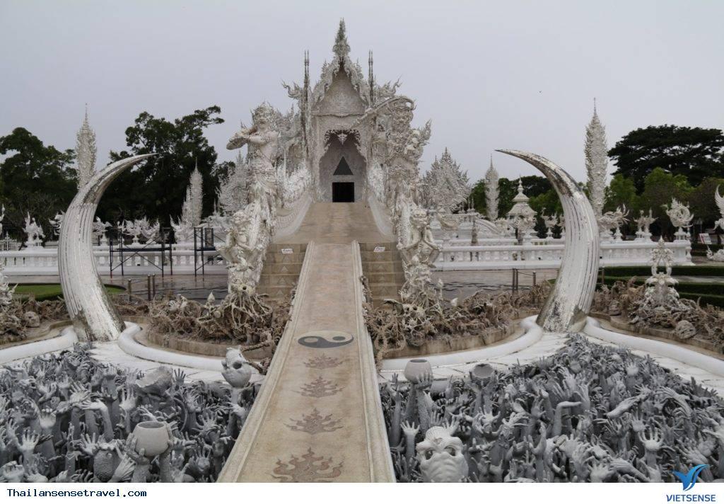 Đền Wat Rong Khun ở Thái Lan - Ảnh 4