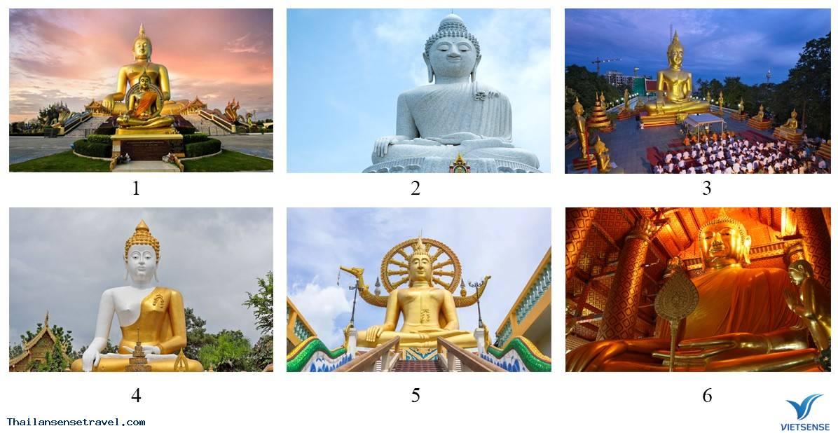 Điểm danh những bức tượng khổng lồ về Đức Phật ở Thái Lan - Ảnh 1