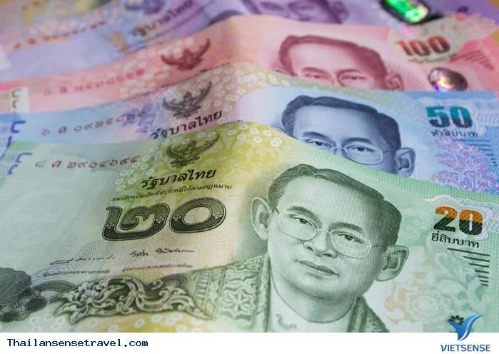 Hình ảnh tiền Thái Lan