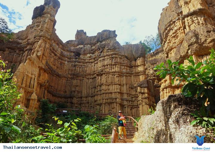 Hẻm núi Pha Chor, Chiang Mai khiến bạn lầm tưởng như đang ỏ Mỹ - Ảnh 2