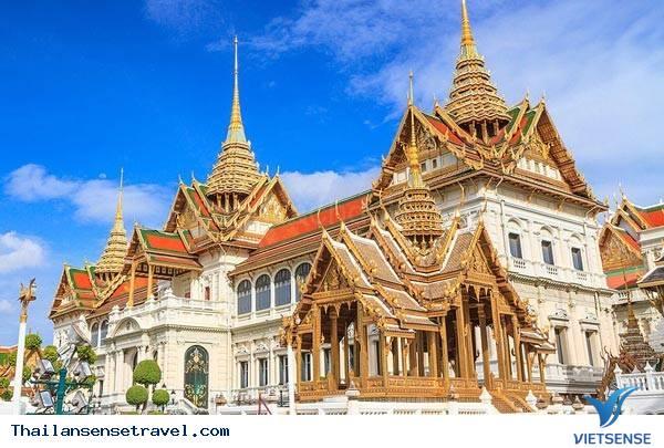 Chiêm ngưỡng Hoàng cung lộng lẫy của Thái Lan - Ảnh 1