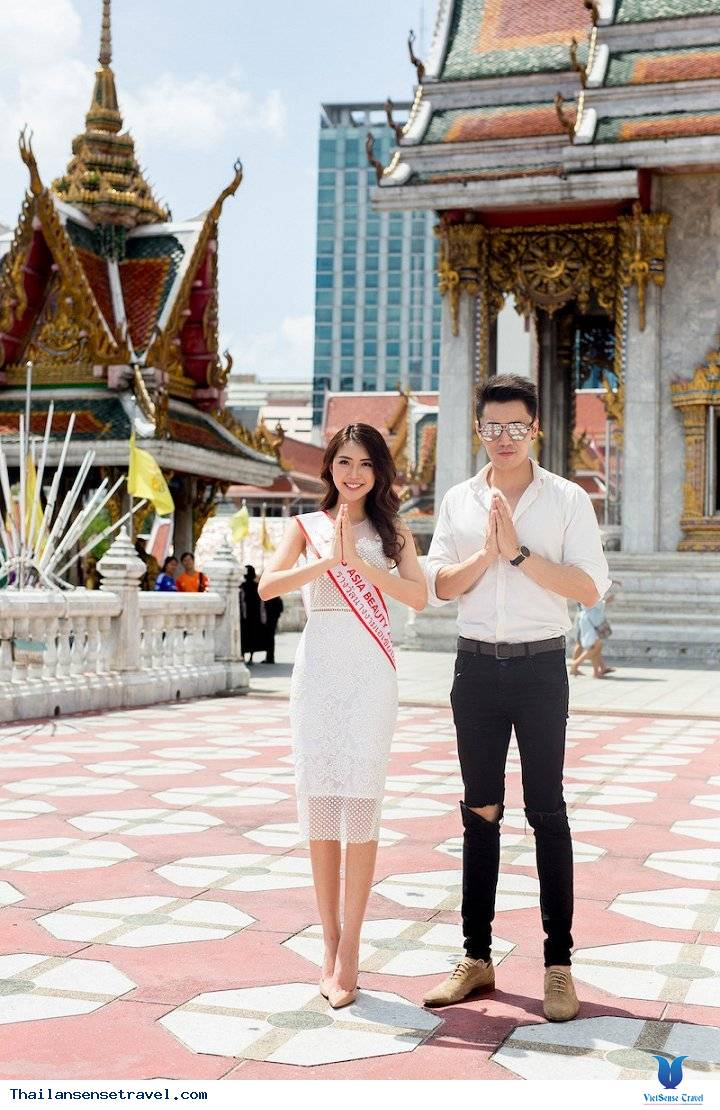 Hot Girl Tường Linh được trai đẹp Thái Lan dẫn đi tham quan Thái Lan - Ảnh 5