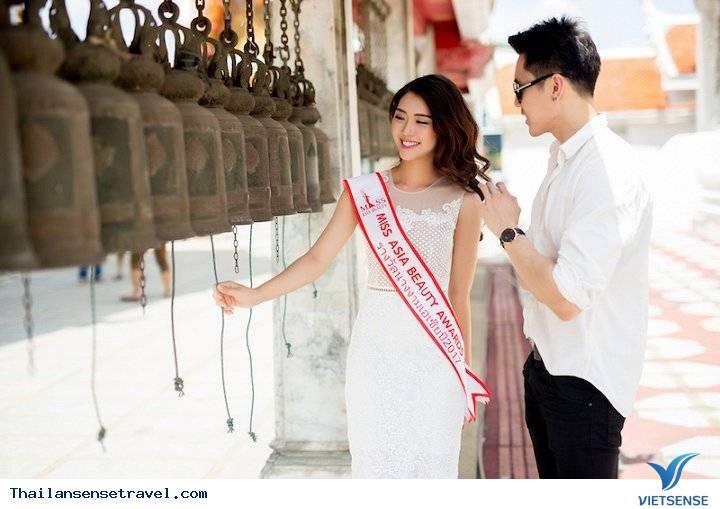 Hot Girl Tường Linh được trai đẹp Thái Lan dẫn đi tham quan Thái Lan - Ảnh 4