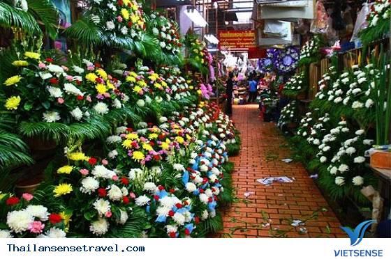 Thăm chợ hoa lớn nhất Bangkok - Ảnh 3