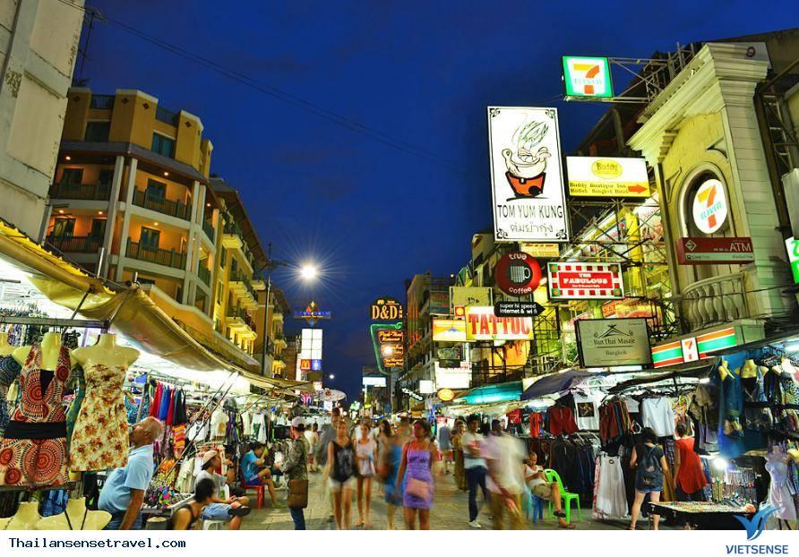 Khảo sát con đường dịch vụ Khao San, điểm đến Thái Lan dành cho những vị khách lần đầu tới thăm, 2018 - Ảnh 1