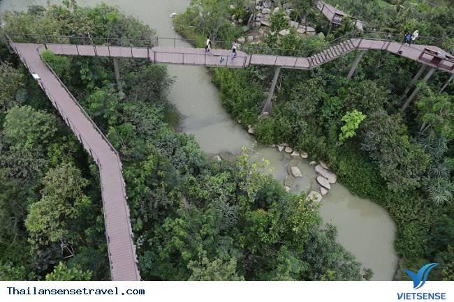 """Khu vườn xanh tươi từng có """"quá khứ"""" bất ngờ giữa lòng Bangkok - Ảnh 3"""