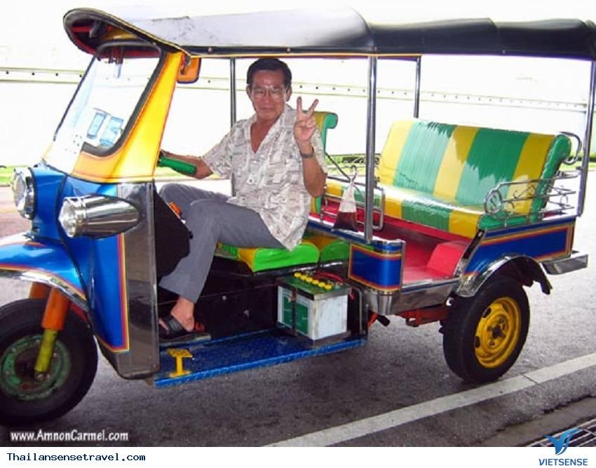 Kinh nghiệm đi xe tuk tuk ở Thái Lan. - Ảnh 5