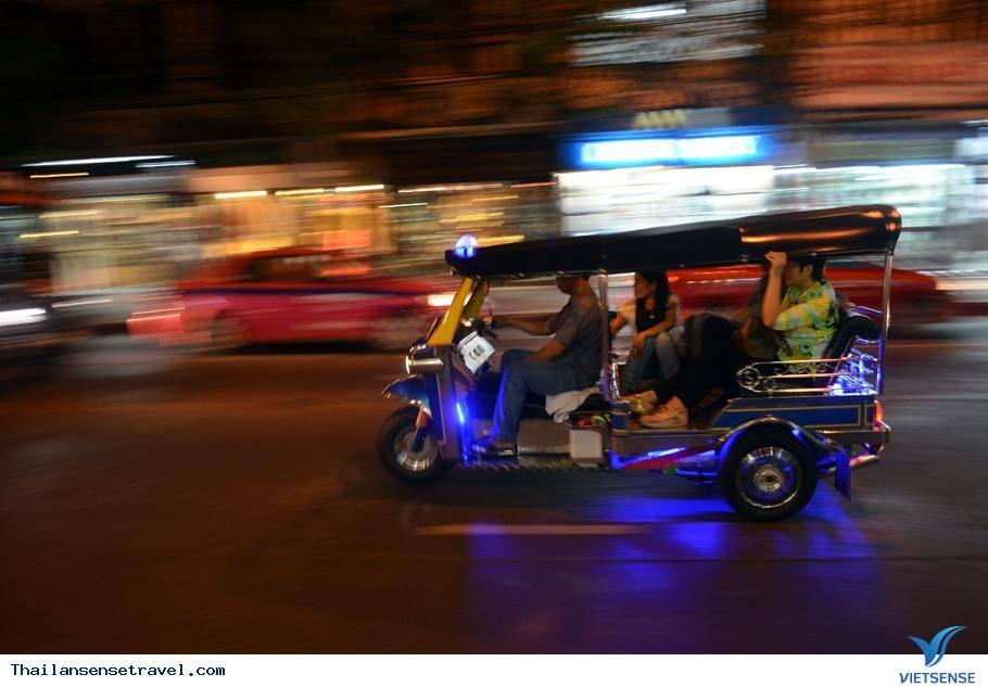 Kinh nghiệm đi xe tuk tuk ở Thái Lan. - Ảnh 4