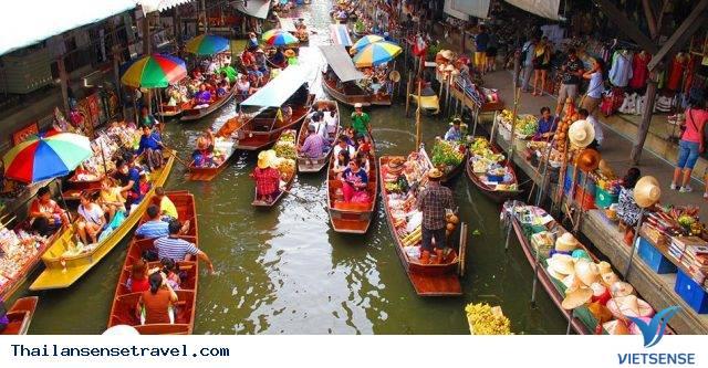 Lênh đênh cùng chợ nổi Pattaya - Ảnh 1
