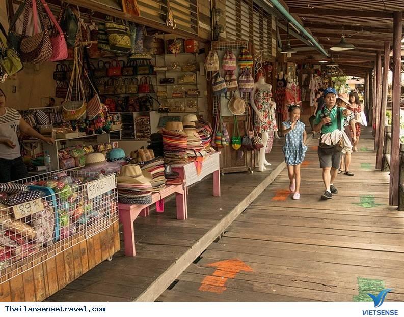 Tham gia làng dân gian truyền thống và thảo dược Thái Lan