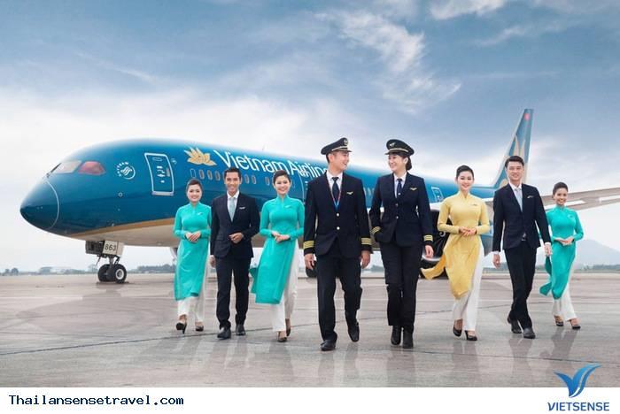 Nên chọn hãng hàng không nào đi Thái Lan: Vietnam Airlines