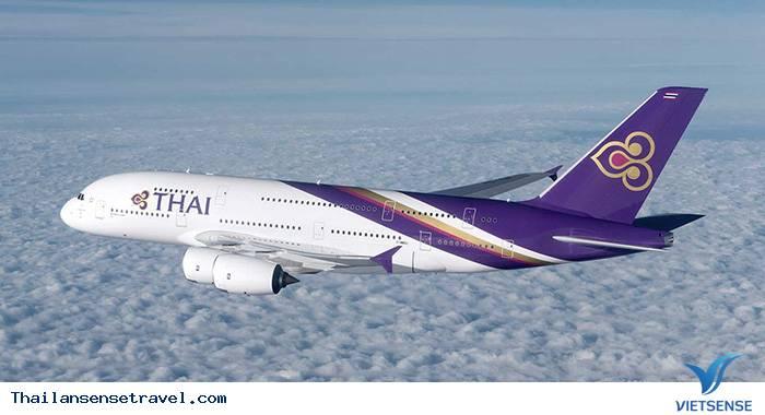 Lựa chọn hãng hàng không đi Thái Lan: Thai Airways