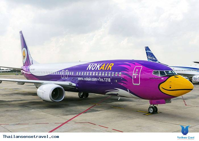 Chọn hãng hàng không đi Thái Lan: NokAir đến sân bay DongMueng