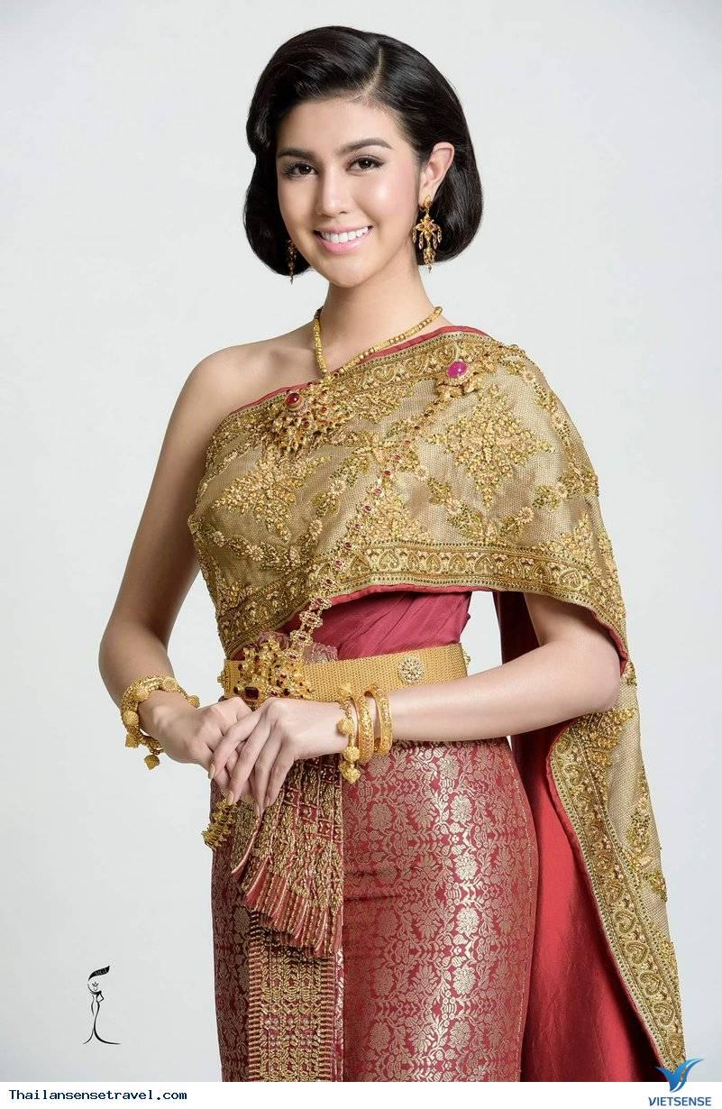 Nét độc đáo trong trang phục truyền thống Thái Lan - Ảnh 4