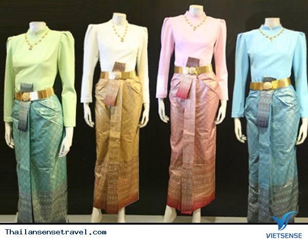 Nét độc đáo trong trang phục truyền thống Thái Lan - Ảnh 2
