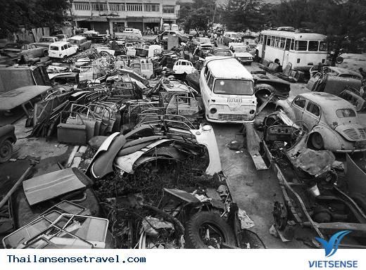 Nghĩa trang xe hơi ở Soi Sai Yood