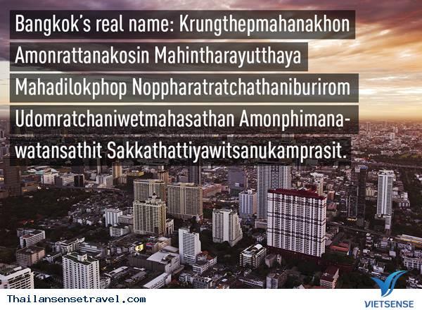 Những điều cực kỳ thú vị về đất nước Thái Lan - Ảnh 3