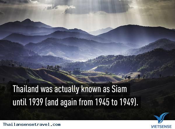 Những điều cực kỳ thú vị về đất nước Thái Lan - Ảnh 1