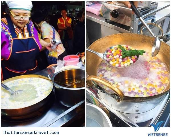 Qúa đã chè trân châu Thái Lan đủ màu sắc - Ảnh 1