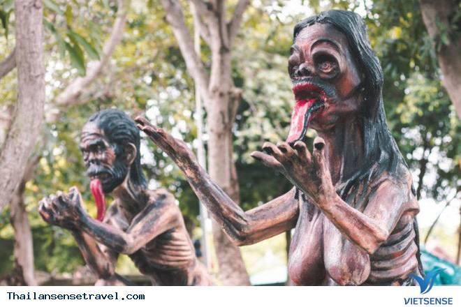 Rùng rợn trong khu vườn địa ngục Thái Lan - Ảnh 1