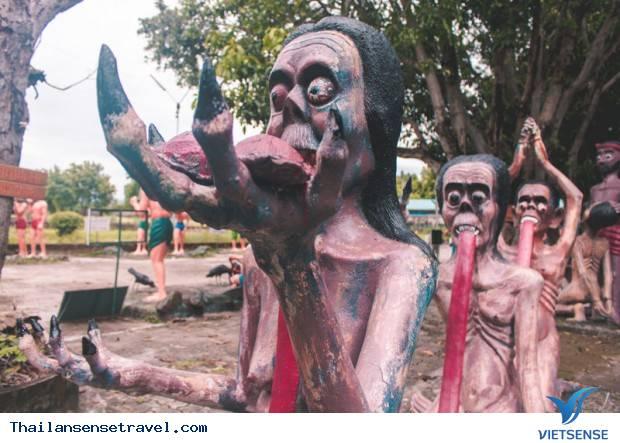 Rùng rợn trong khu vườn địa ngục Thái Lan - Ảnh 5