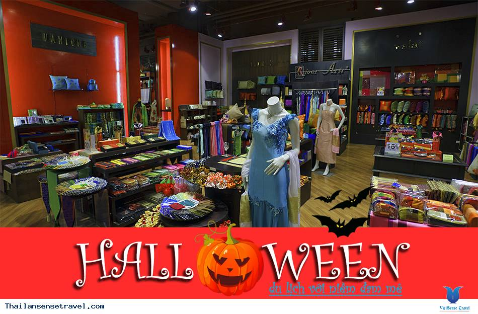 Săn hàng giá rẻ tại Bangkok trong mùa Halloween