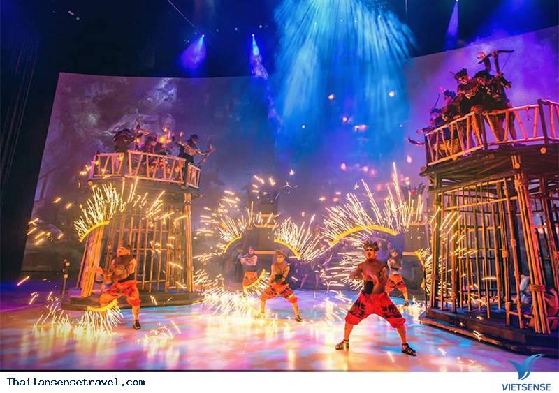 Show diễn Kaan đặc sắc tại Thái Lan - Ảnh 1