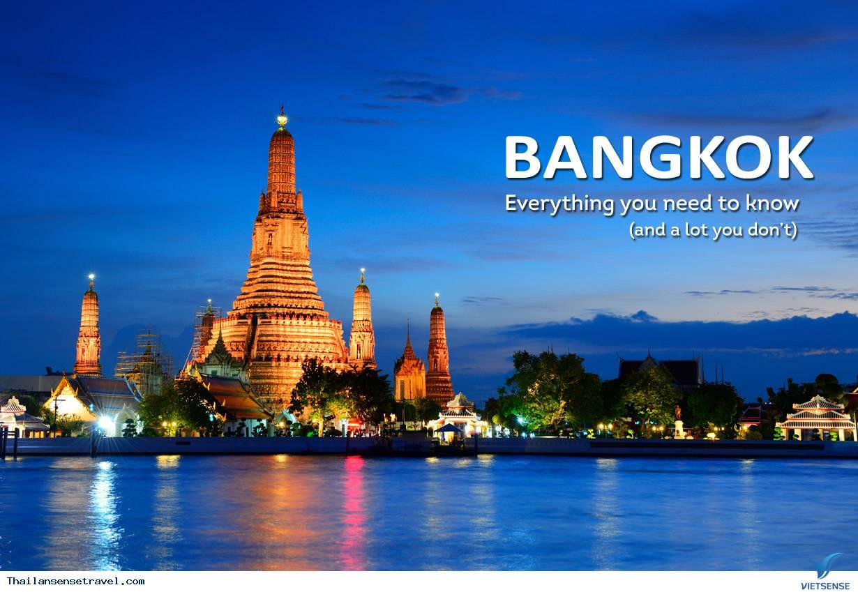 Thái Lan 5 ngày 4 đêm giá rẻ