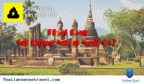 Ngôn ngữ chính ở Thái Lan?