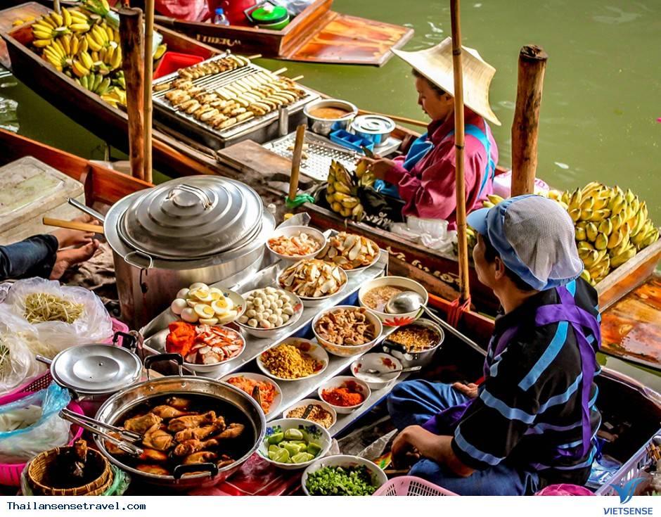 Thăm chợ nổi Damnoen Saduak thú vị ở Thái Lan - Ảnh 3