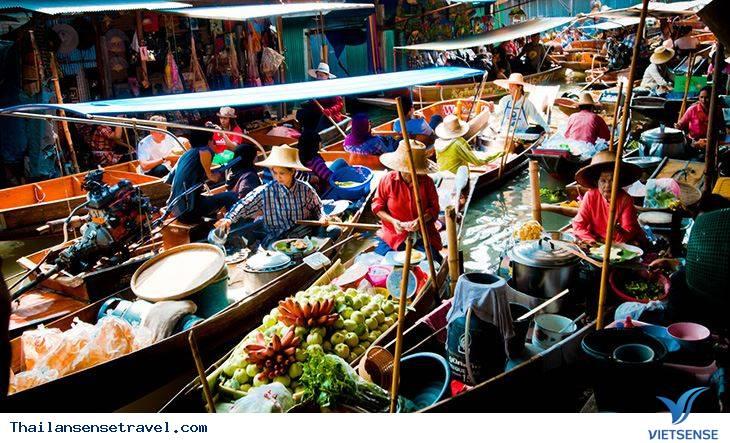 Thăm chợ nổi Damnoen Saduak thú vị ở Thái Lan - Ảnh 2